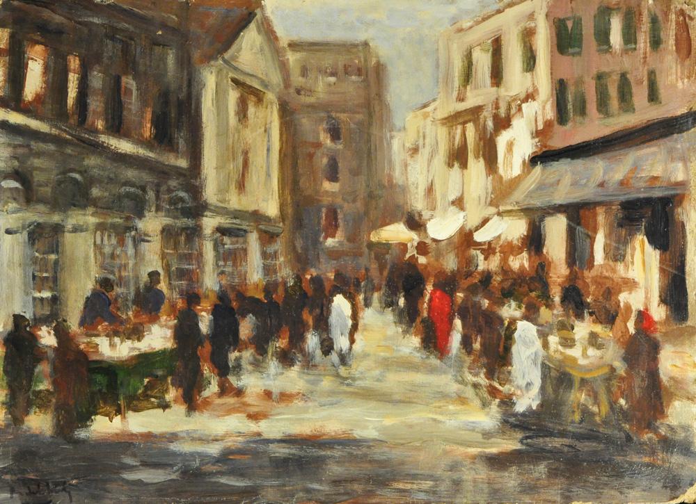 Trieste impressionista: Roberto del Frate - Ghetto