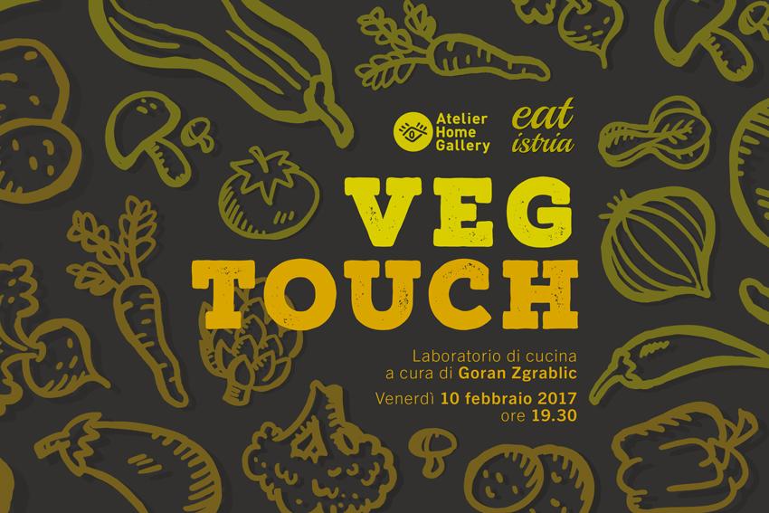 Veg Touch: cucina vegetariana - locandina