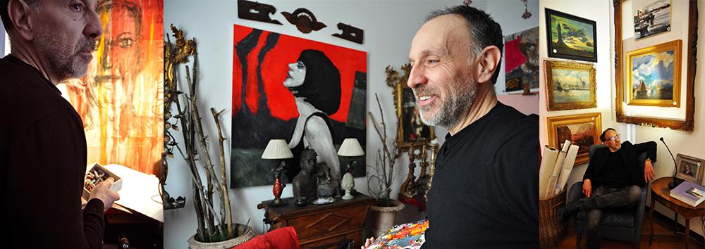 Corsi di pittura a Trieste_Roberto del Frate_Atelier Home Gallery
