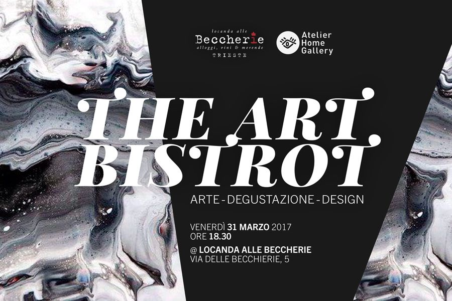 The Art Bistrot - Black and White - Trieste - Atelier Home Gallery