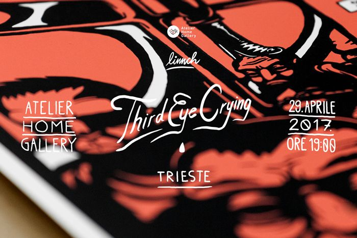 Third eye crying_Linnch_Atelier Home Gallery_cover