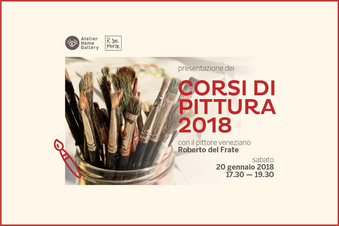 Corsi di pittura a Trieste 2018 | Roberto del Frate