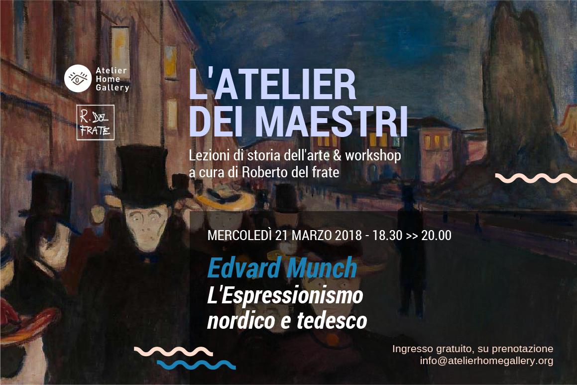 Edvard Munch e l'espressionismo nordico
